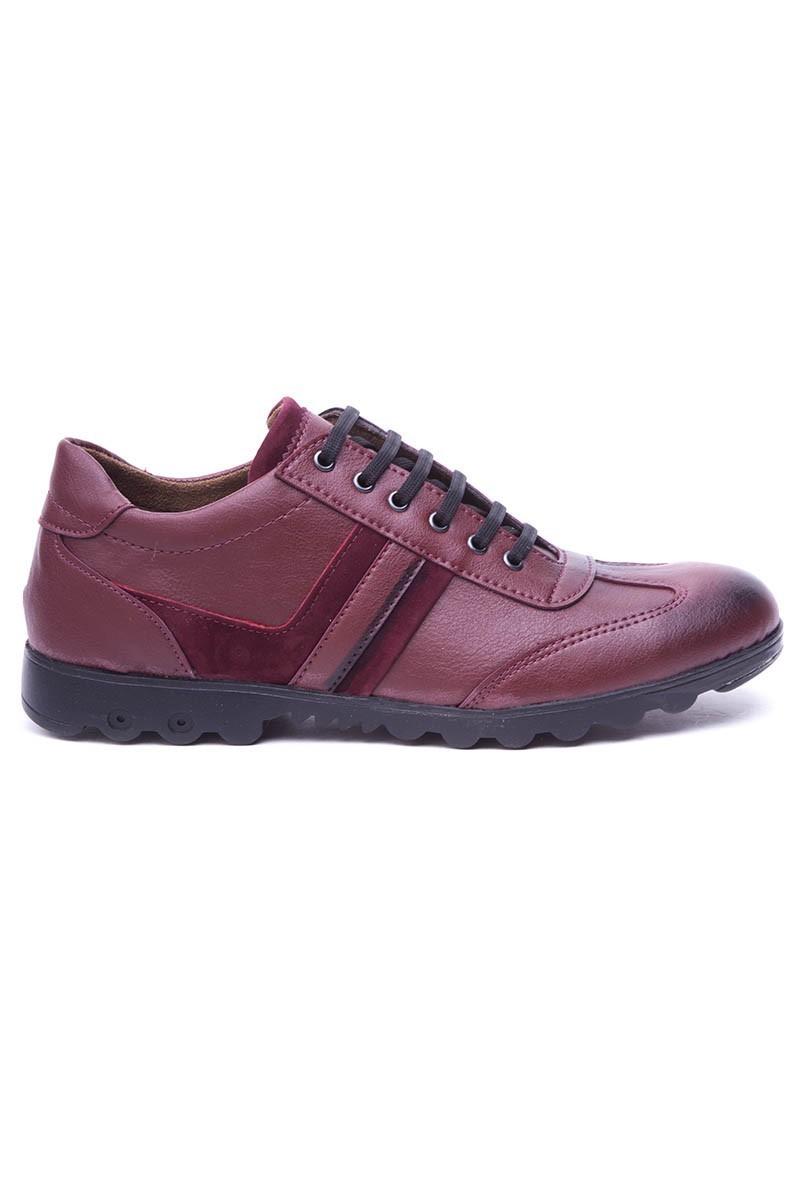 Polomen Bordo PLM-2040-MAT Erkek Ayakkabı