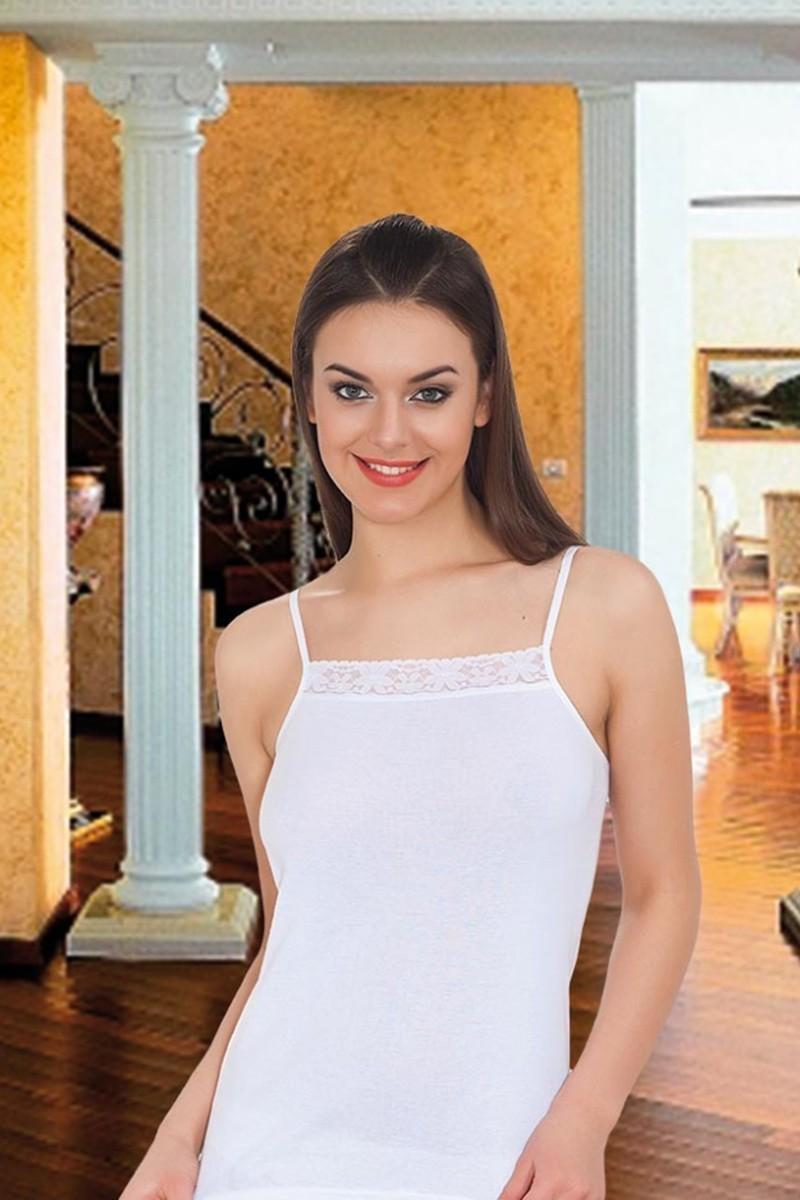 Polat Yıldız Beyaz PY-0116 Bayan Atlet