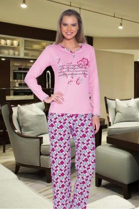 Polat Yıldız Pembe PY-3516 Bayan Pijama