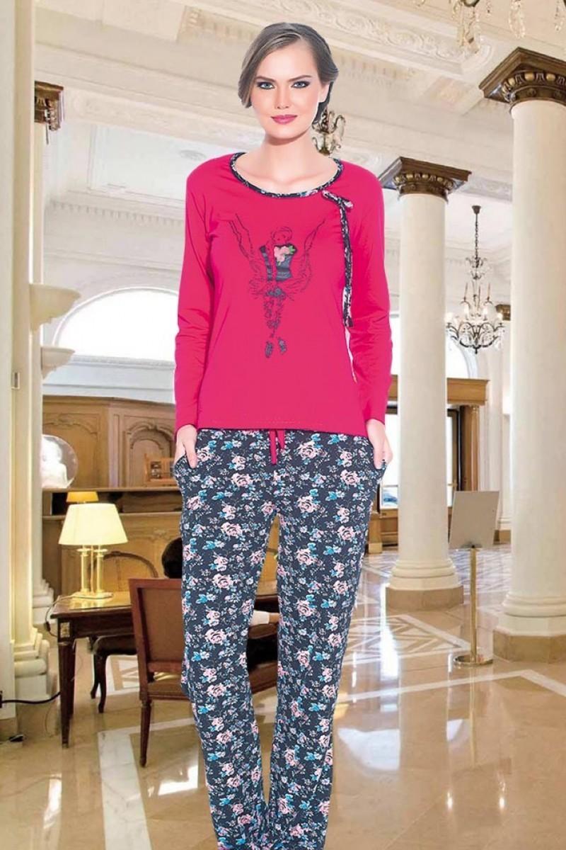 Polat Yıldız Pembe PY-3523 Bayan Pijama