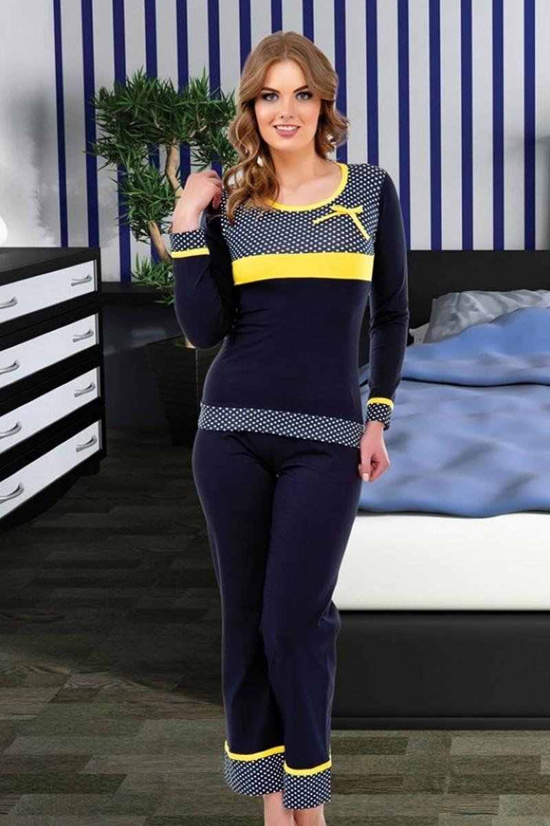 Polat Yıldız Lacivert PY-3814 Bayan Pijama