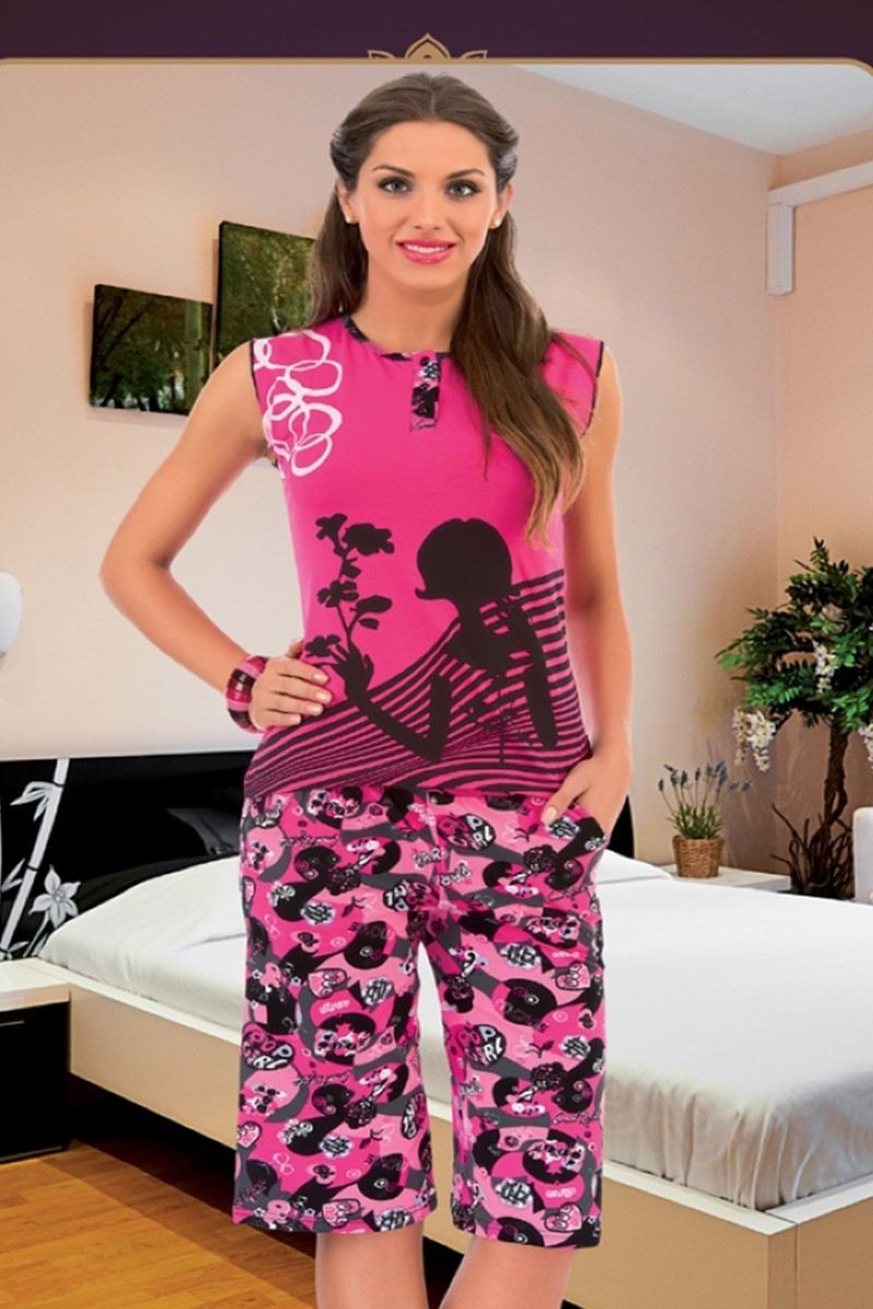 Polat Yıldız Pembe PY-3559 Bayan Pijama