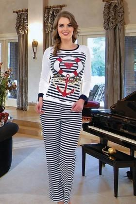 Polat Yıldız Karışık Renkli PY-3797 Bayan Pijama