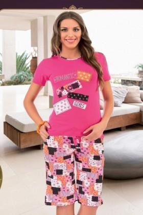 Polat Yıldız Pembe PY-3579 Bayan Pijama