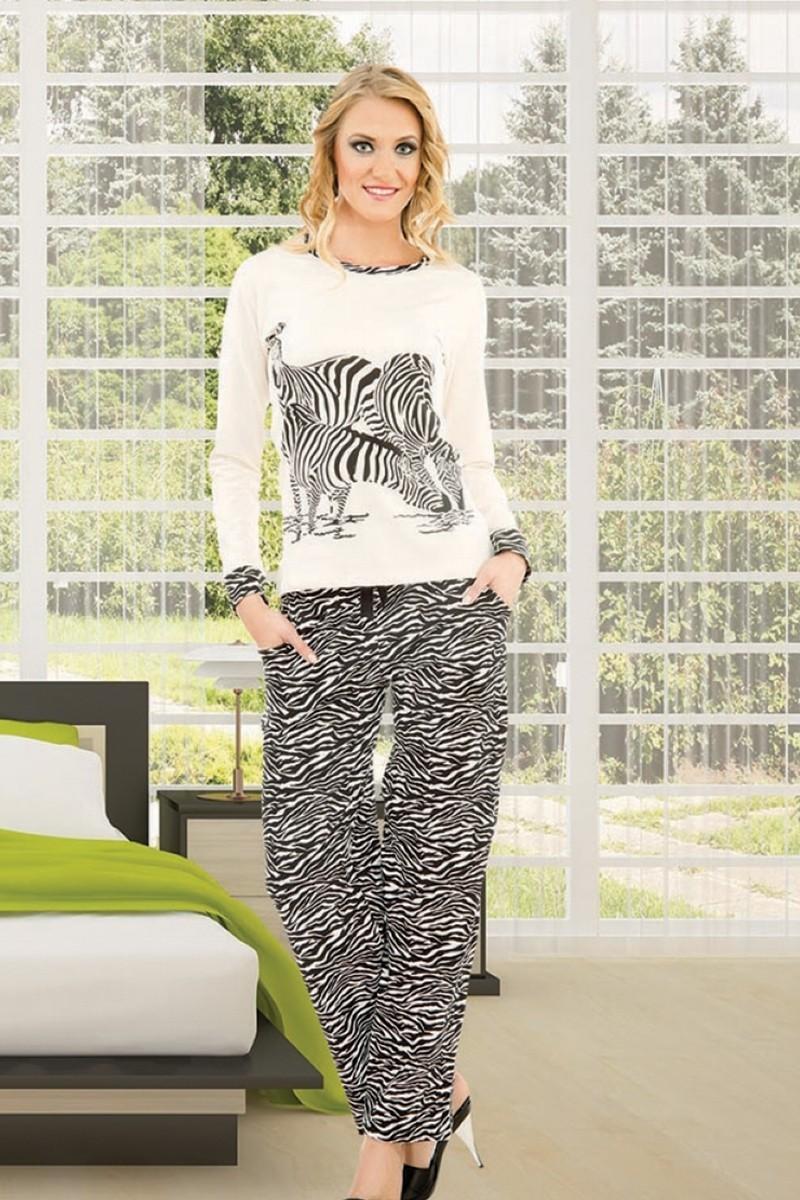 Polat Yıldız Karışık Renkli PY-3640 Bayan Pijama