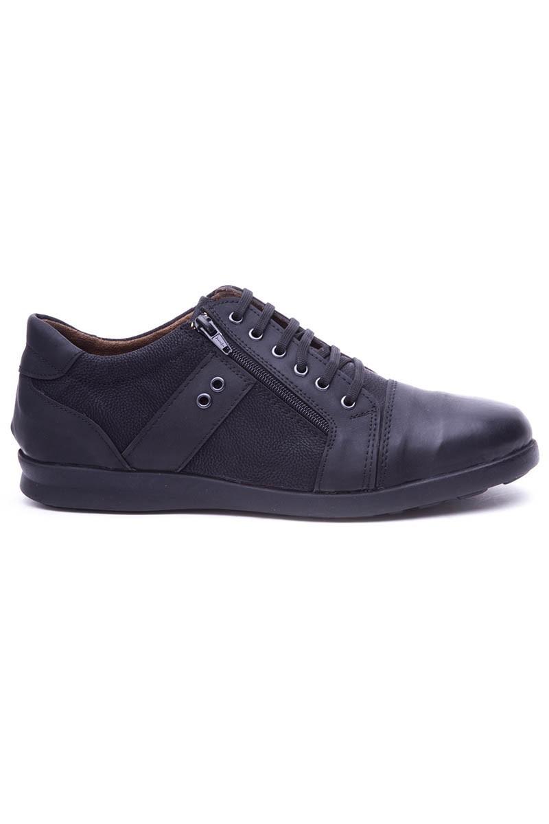 Polomen Siyah PLM-1100-MAT Erkek Ayakkabı
