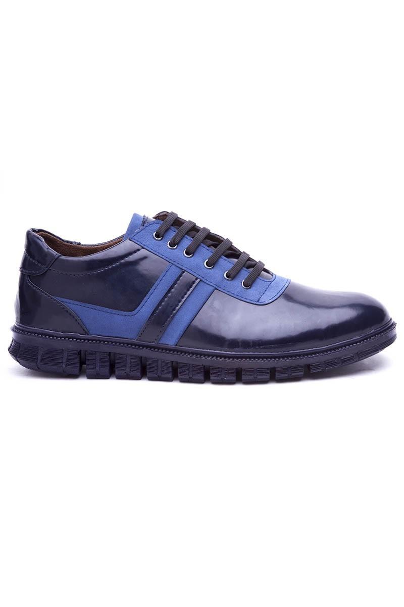 Polomen Lacivert-Mavi PLM-1098 Erkek Ayakkabı