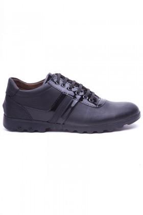 Polomen Siyah PLM-1045 Erkek Ayakkabı