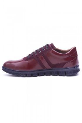 Polomen Bordo PLM-1098-RGN Erkek Ayakkabı