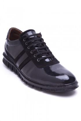 Polomen Siyah PLM-1098-RGN Erkek Ayakkabı