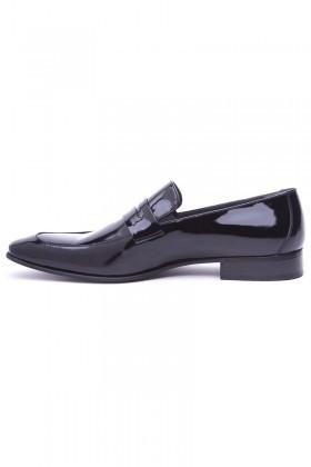 Wenetti Siyah WNT-333 Hakiki Deri Klasik Erkek Ayakkabı