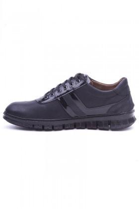 Polomen Siyah PLM-2030 Erkek Ayakkabı