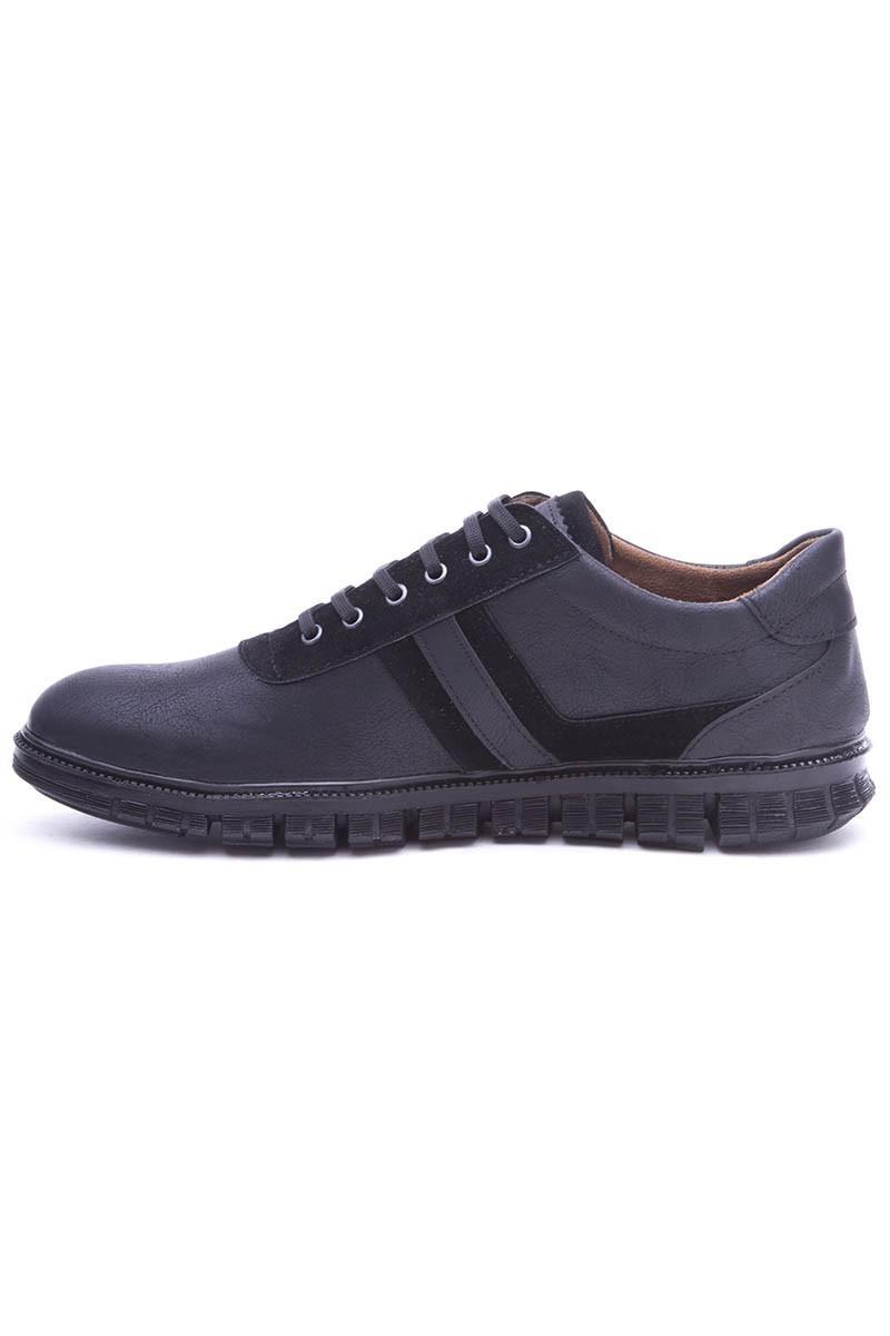 Polomen Siyah PLM-2030-NBK Erkek Ayakkabı