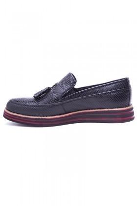 BLUESOIL Siyah BS-20-021 Erkek Ayakkabı
