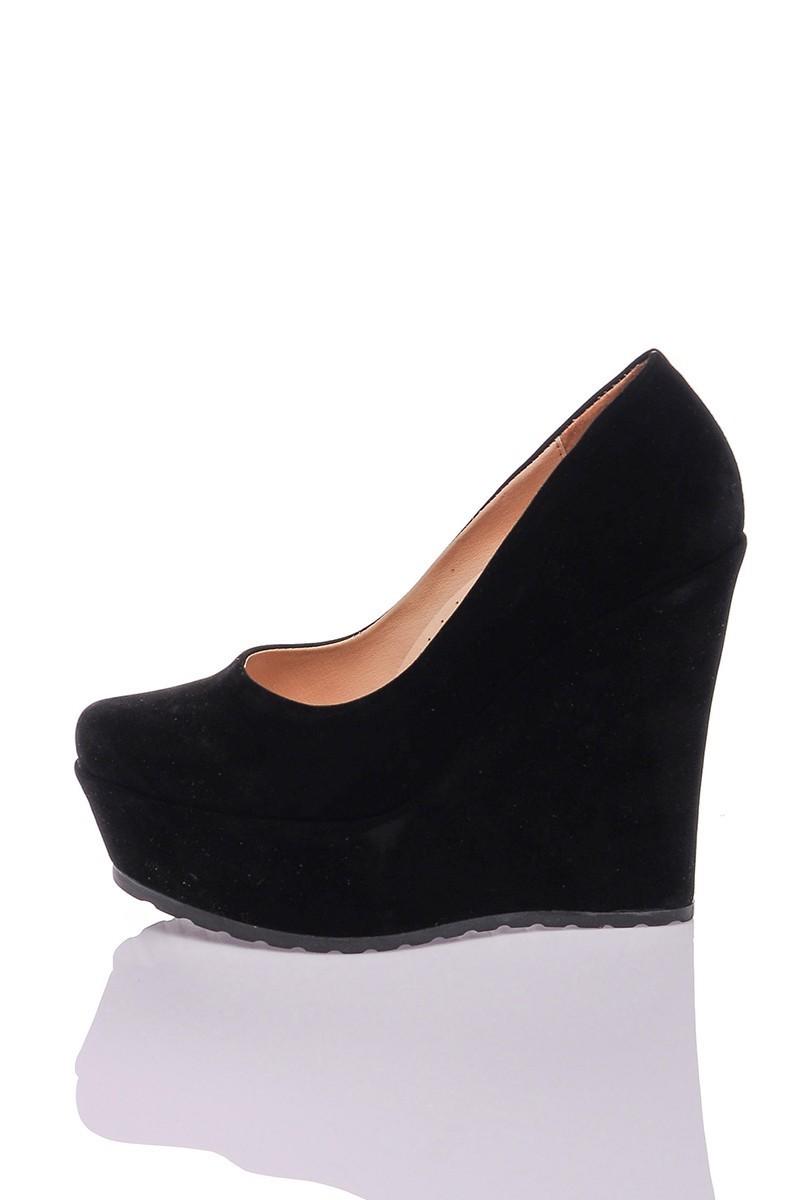 Diensi Siyah SI-102101-SUET Bayan Ayakkabı
