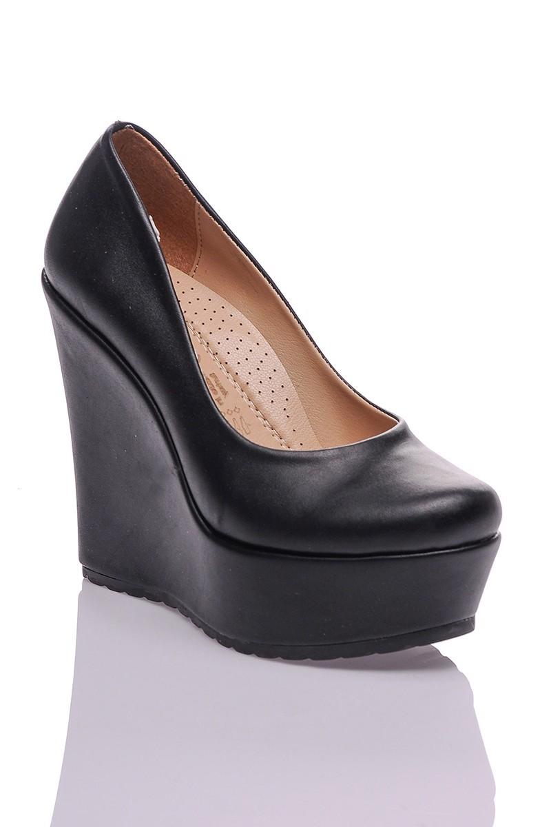 Diensi Siyah SI-102101 Bayan Ayakkabı