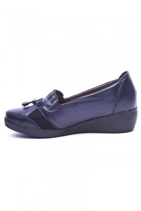 Deso Lacivert DS-500 Bayan Ayakkabı