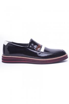 BLUESOIL Siyah BS-01155 Erkek Ayakkabı