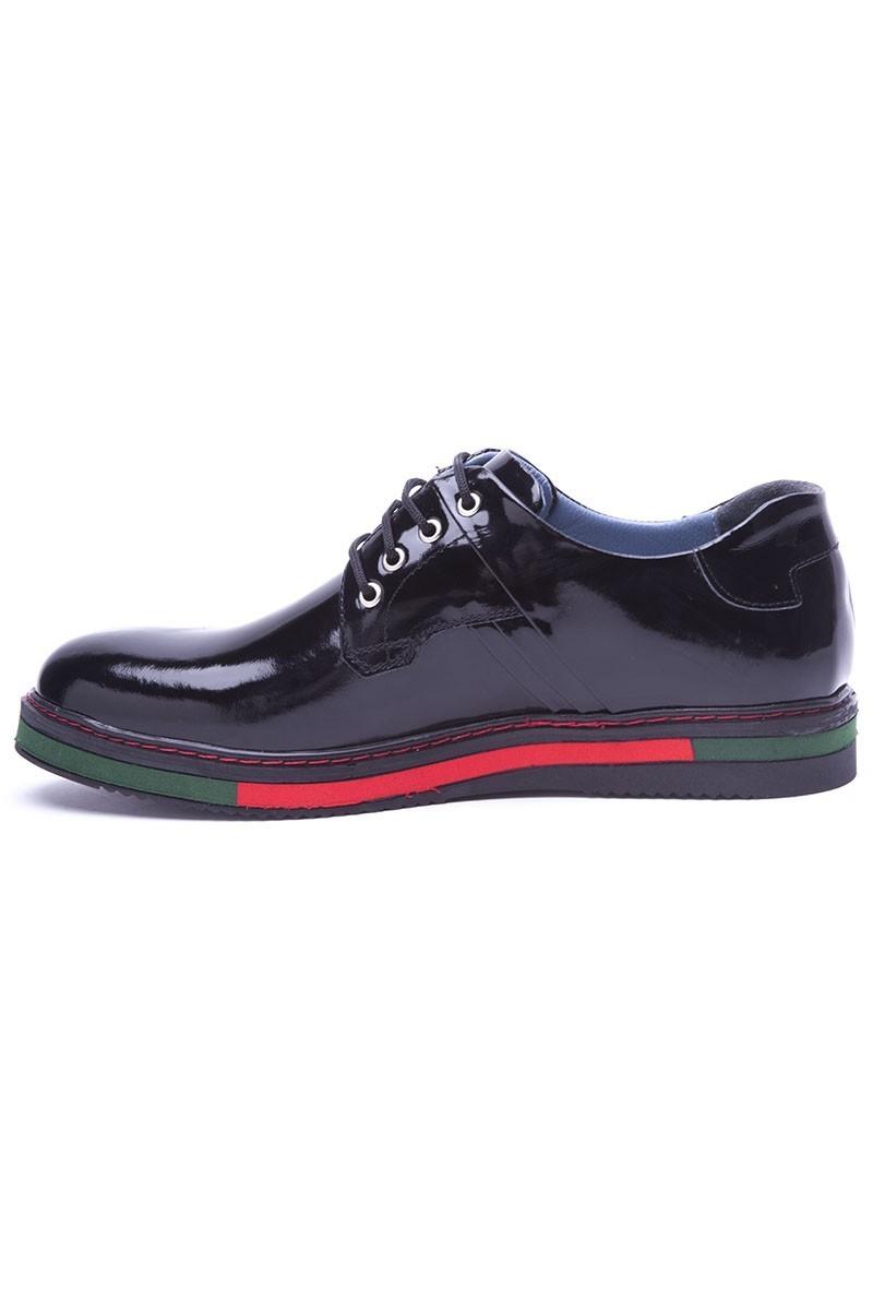 BLUESOIL Siyah BS-20-22 Hakiki Deri Erkek Ayakkabı