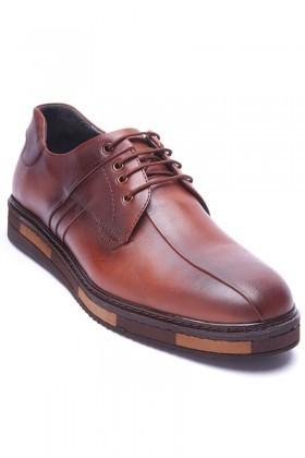 BLUESOIL Taba BS-20-22 Hakiki Deri Erkek Ayakkabı