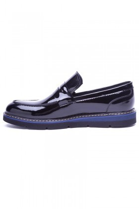 Wenetti Siyah WNT-123-SYH Hakiki Deri Erkek Ayakkabı