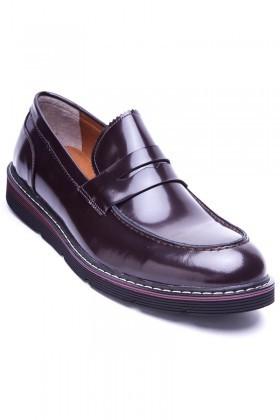 Wenetti Kahverengi WNT-123 Hakiki Deri Erkek Ayakkabı