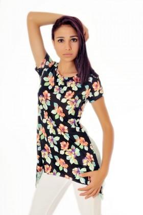 Yeni Elbisem Karışık Renkli YE-9187 Bayan Body