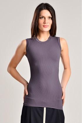 Yeni Elbisem Antrasit YE-7258 Bayan Body