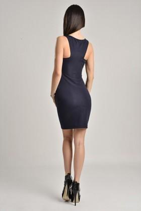 Yeni Elbisem Siyah YEE-6984 Bayan Elbise