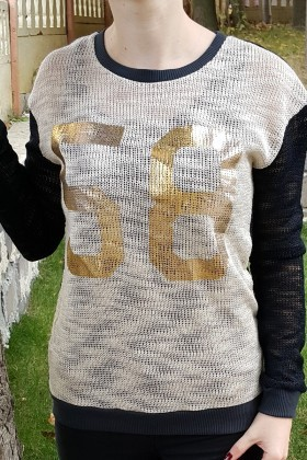 Yeni Elbisem Bej YE-6782 Bayan Triko