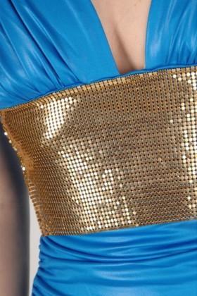 Yeni Elbisem Mavi YE-6562 Bayan Elbise