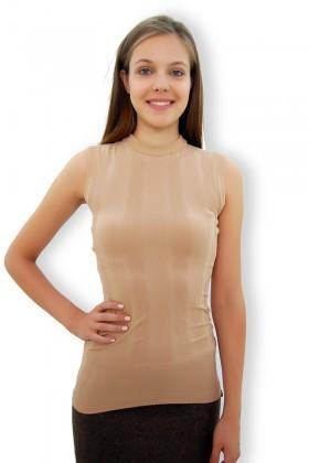 Yeni Elbisem Bej YE-4172 Bayan Body
