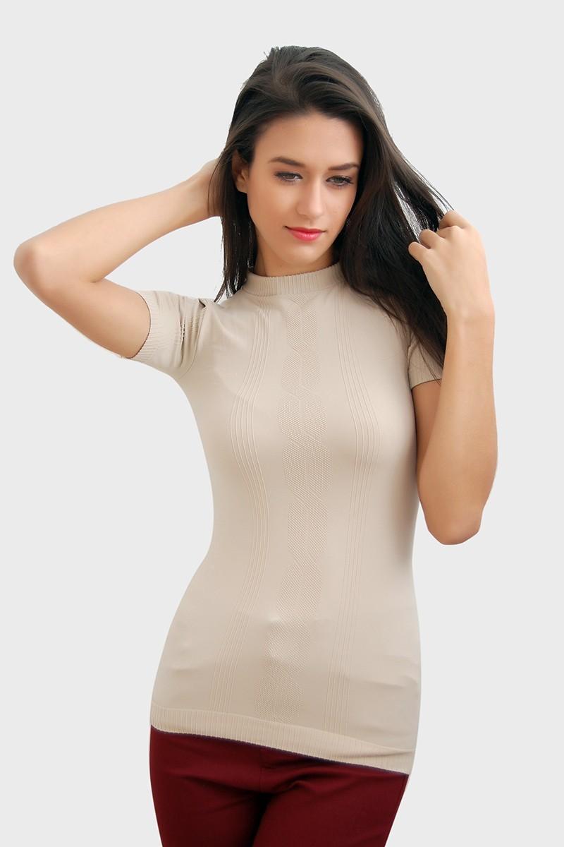 Yeni Elbisem Bej YE-1817 Bayan Body