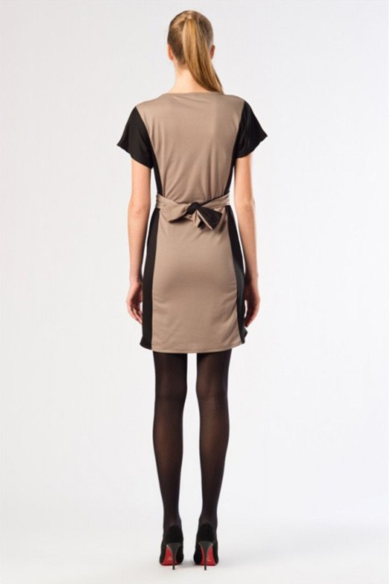 Yeni Elbisem Siyah YE-12K010S Bayan Elbise