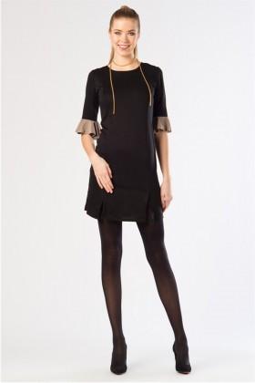 Yeni Elbisem Siyah YE-12K008S Bayan Elbise