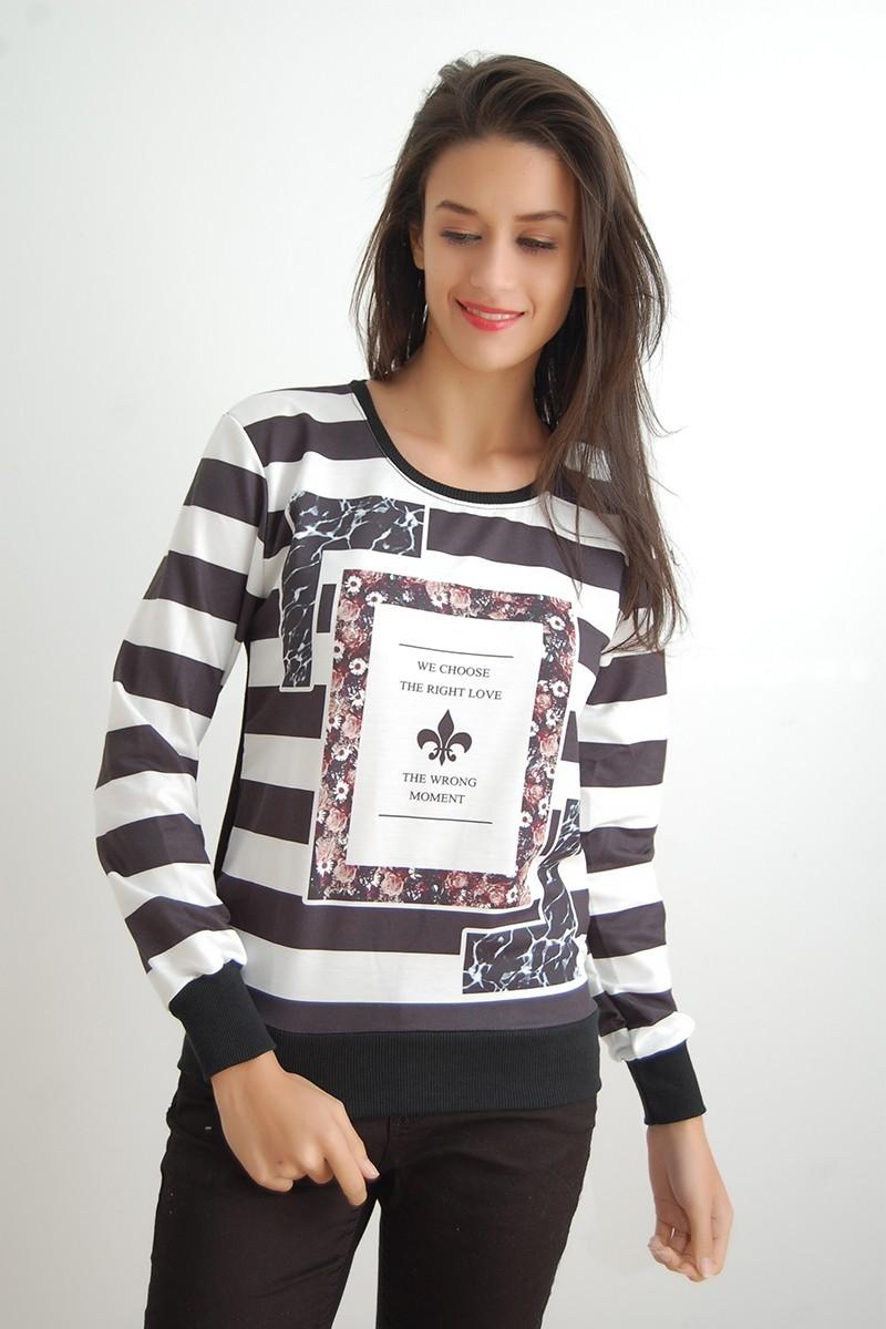 Yeni Elbisem Karışık Renkli YEE-9821 Bayan Sweat
