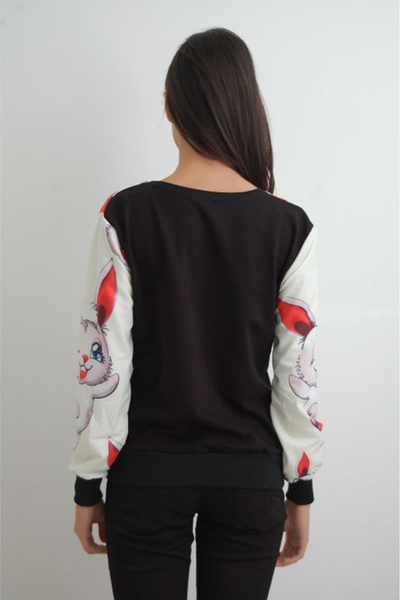 Yeni Elbisem Karışık Renkli Ü-9812 Bayan Sweat