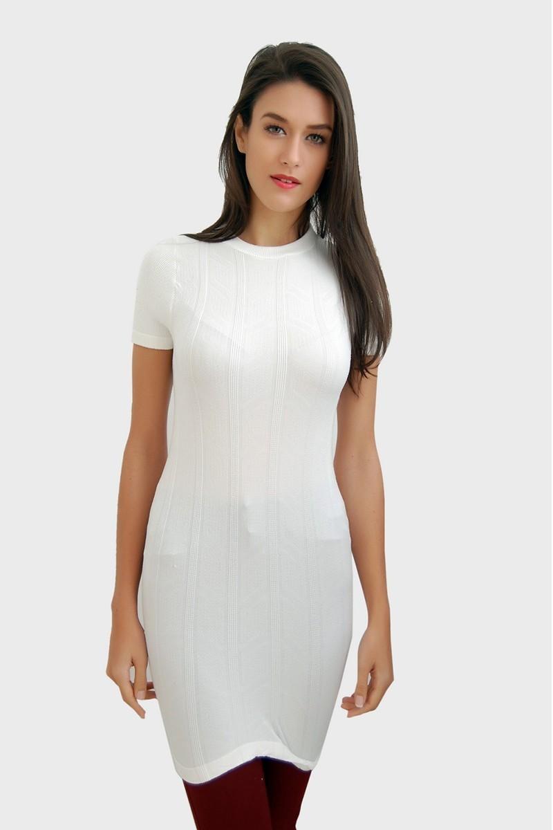 Yeni Elbisem Beyaz Ü-1049 Bayan Body