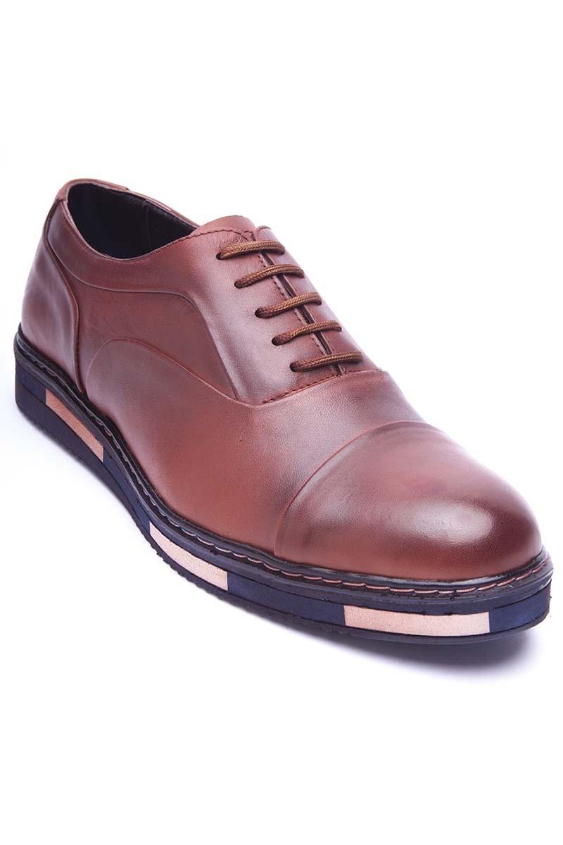 BLUESOIL Taba BS-20-26 Hakiki Deri Erkek Ayakkabı