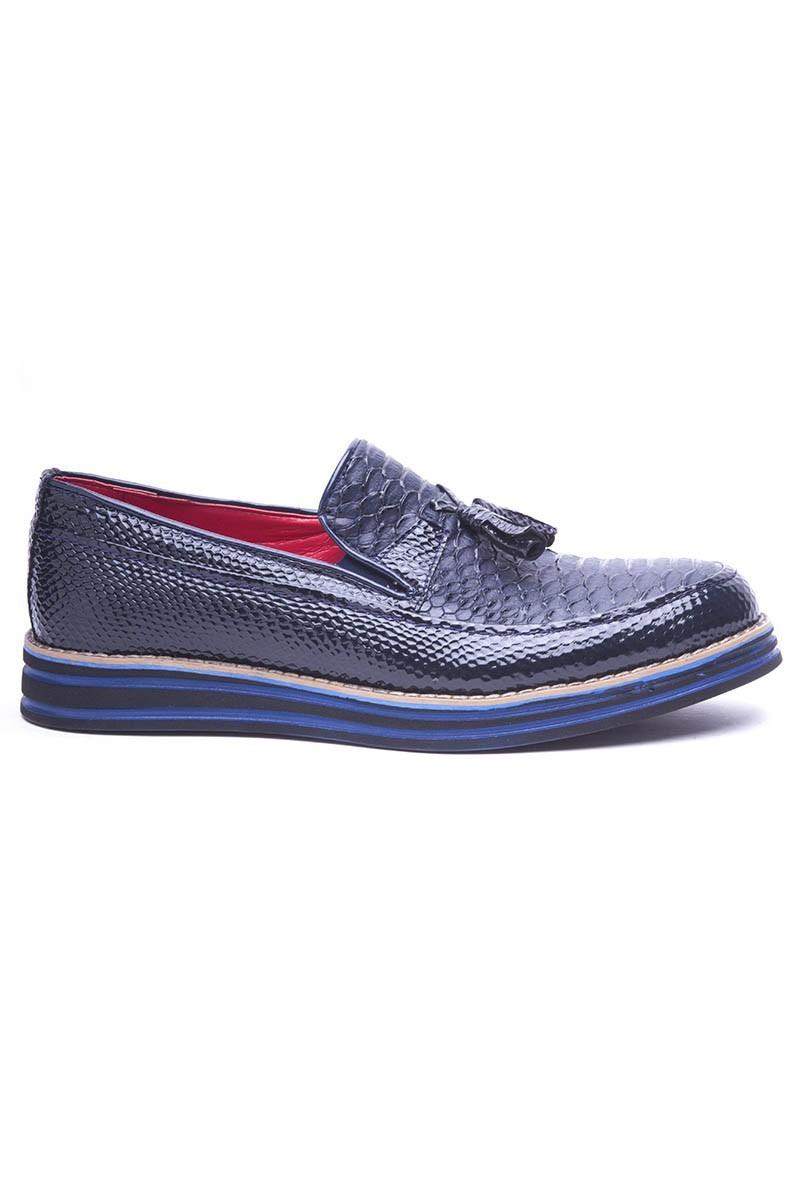BLUESOIL Lacivert BS-20-012-YILAN Erkek Ayakkabı