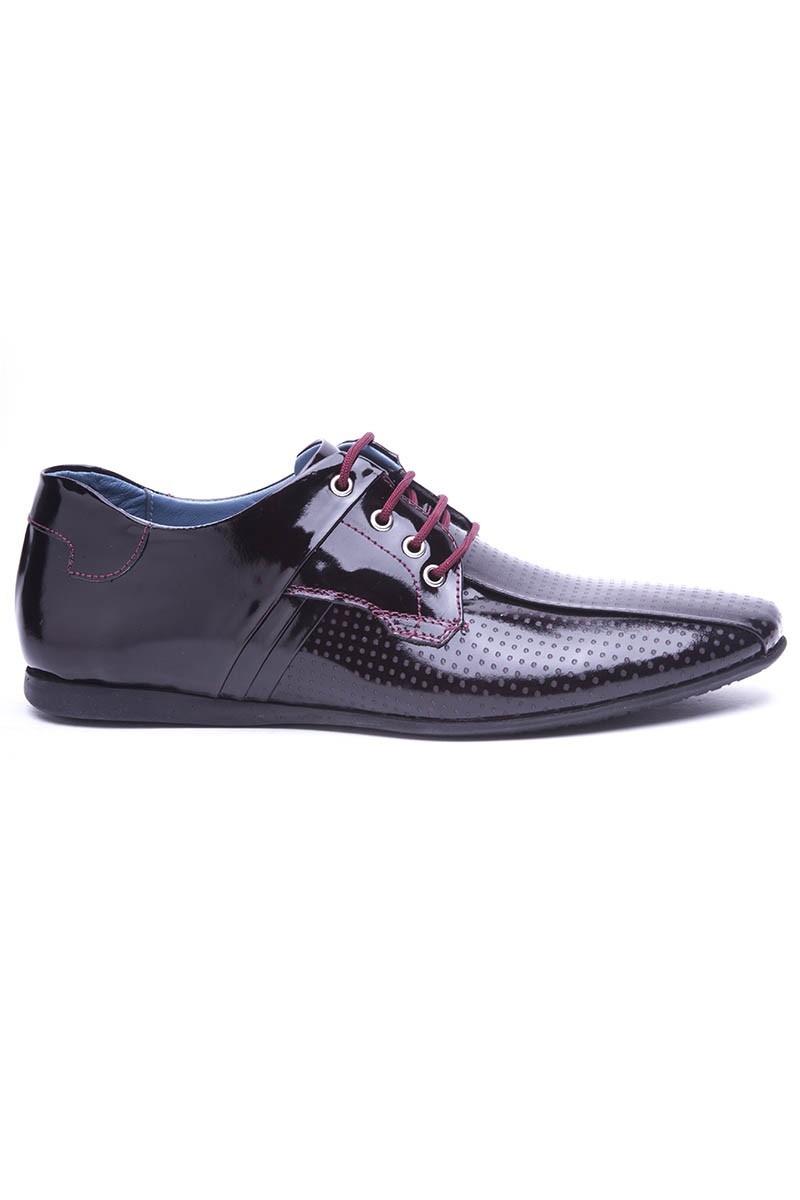 BLUESOIL Bordo BS-20-20 Hakiki Deri Erkek Ayakkabı