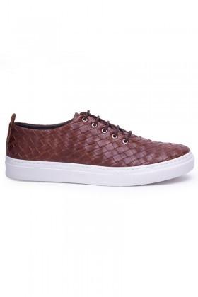 BLUESOIL Taba BS-20-042-KARELI Erkek Ayakkabı