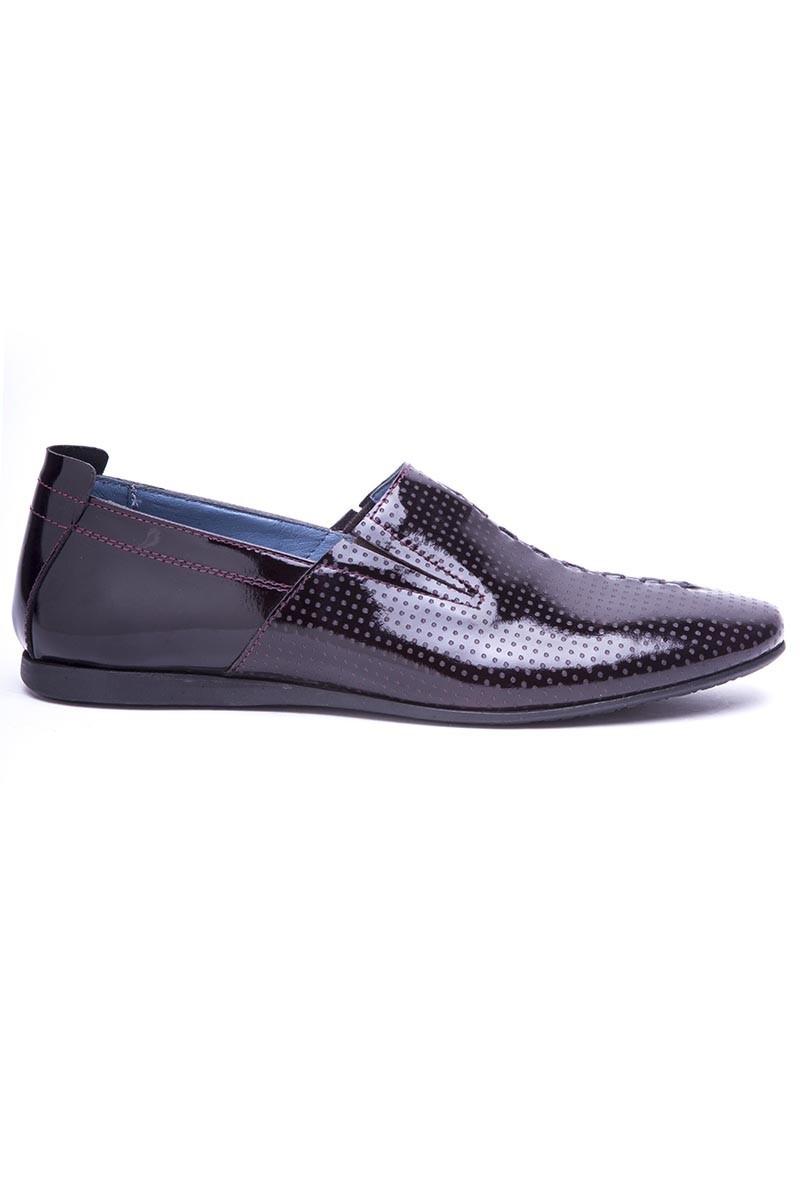 BLUESOIL Bordo BS-20-19 Hakiki Deri Erkek Ayakkabı