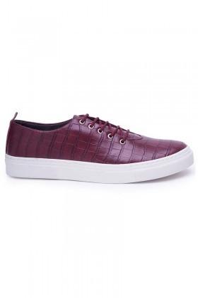 BLUESOIL Bordo BS-20-042 Erkek Ayakkabı