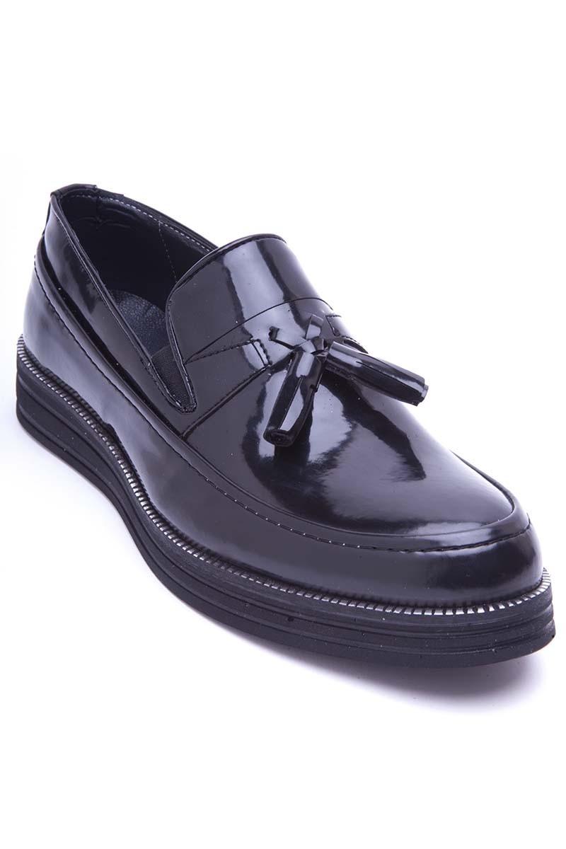 BLUESOIL Siyah BS-20-043-RGN Erkek Ayakkabı