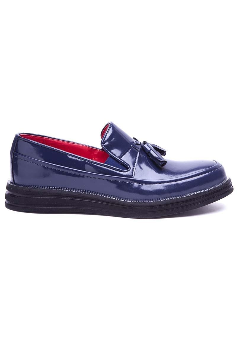 BLUESOIL Lacivert BS-20-043-RGN Erkek Ayakkabı