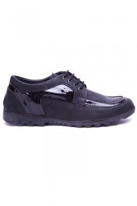Polomen Siyah PLM-0123 Erkek Ayakkabı