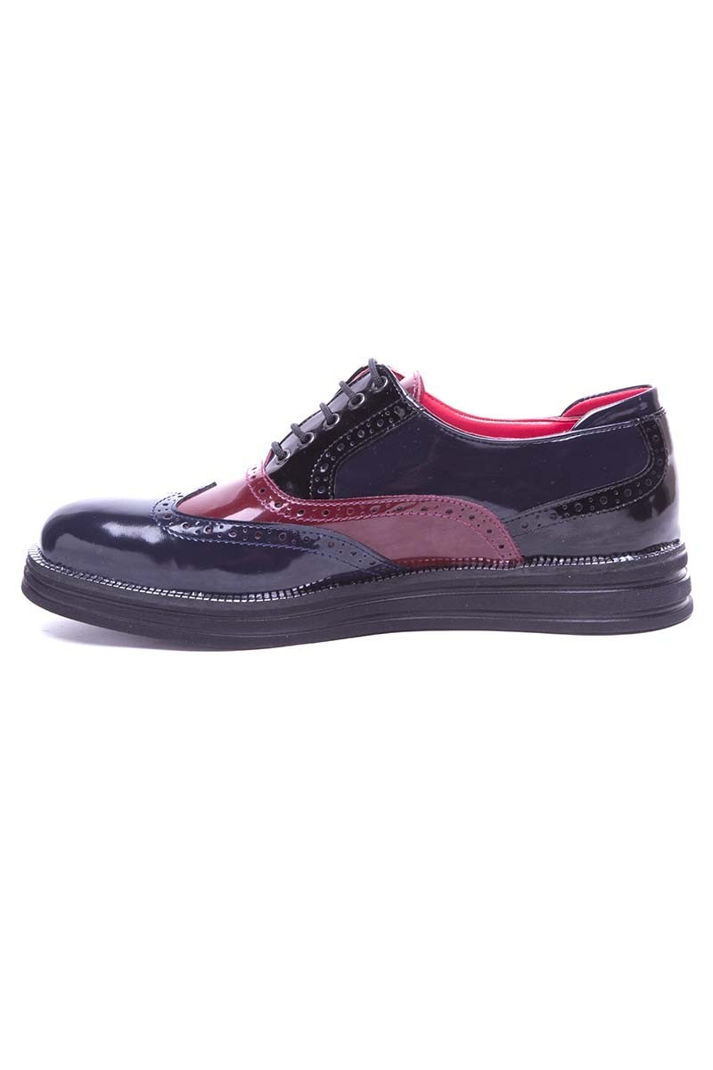 BLUESOIL Lacivert-Bordo BS-20-026 Erkek Ayakkabı