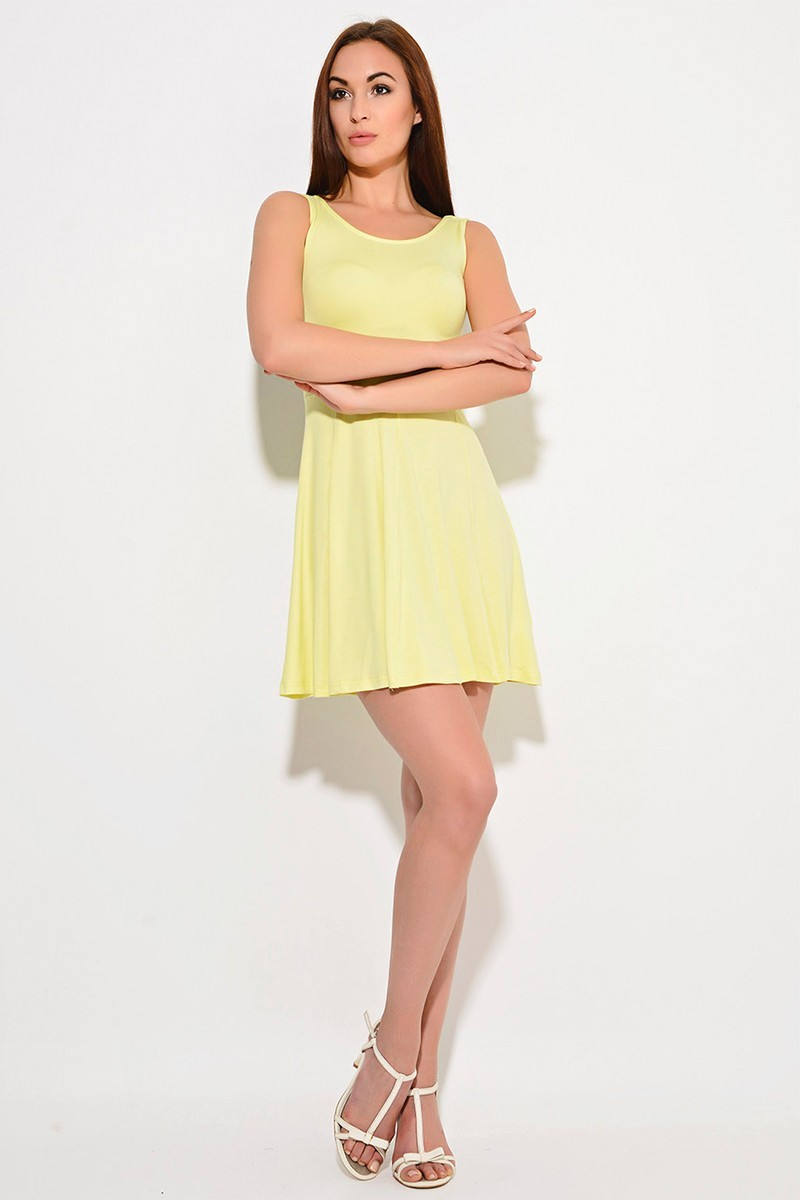 Yeni Elbisem Sarı YE-8270 Bayan Elbise