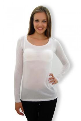 Yeni Elbisem Beyaz EY-4101 Bayan Body
